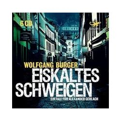 Hörbücher: Eiskaltes Schweigen  von Wolfgang Burger