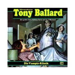 Hörbücher: Tony Ballard-Hörspiel 16. Vampir-Klinik  von A. F. Morland