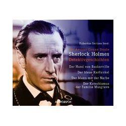 Hörbücher: Sherlock Holmes Detektivgeschichten  von Arthur Conan Doyle