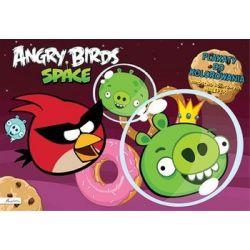 Angry Birds Space. Plakaty do kolorowania z naklejkami