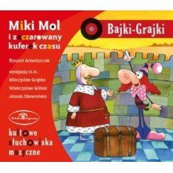 Bajki Grajki Nr 43. Miki Mol i zaczarowany kuferek czasu (CD) - Ryszard Antoniszczak