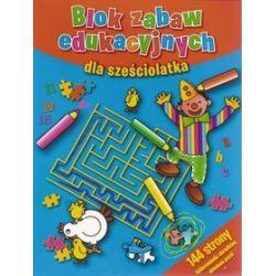 Blok zabaw edukacyjnych dla sześciolatka