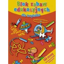 Blok zabaw edukacyjnych dla trzylatka