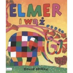Elmer i wąż - David McKee