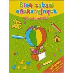 Blok zabaw edukacyjnych dla czterolatka