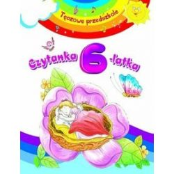 Czytanka 6-latka. Tęczowe przedszkole - Anna Wiśniewska