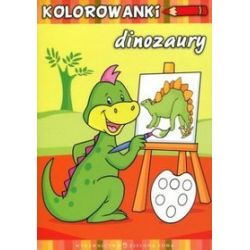 Dinozaury. Kolorowanki