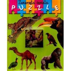 Zwierzęta świata. Moja pierwsza książeczka z puzzlami