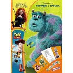 Disney Pixar. Kolorowanka i naklejki