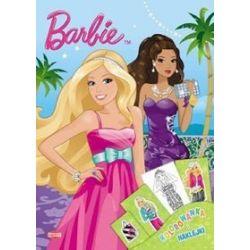 Kolorowanka i naklejki. Barbie