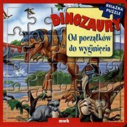 Dinozaury od początków do wyginięcia książka puzzle