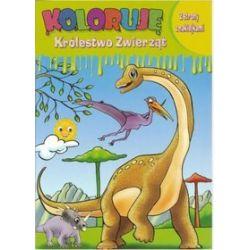 Koloruję Królestwo Zwierząt - Dinozaur