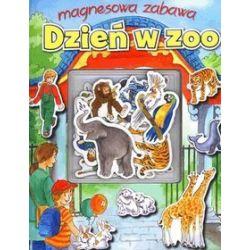 Dzień w zoo. Magnesowa zabawa