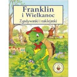 Franklin i wielkanoc. Zgadywanki i naklejanki