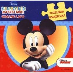 Klub przyjaciół myszki Miki upalne lato. Puzzlowa książeczka