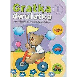 Gratka dwulatka 1. Ciekawe zadania z naklejkami dla najmłodzsych - Agnieszka Bator