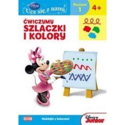 Disney. Ucz się z nami. Klub Przyjaciół Myszki Miki. Ćwiczymy szlaczki i kolory