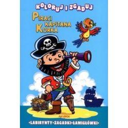 Piraci Kapitana Korka. Koloruj i zgaduj