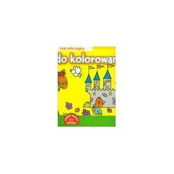Plakaty do kolorowania - moja żółta książka