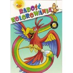 Radość Kolorowania - Papuga