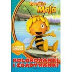 Pszczółka Maja. Kolorowanki i zgadywanki (niebieskie) -