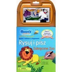 Rysuj i pisz. Zakręcone Zoo. MAGNIX Szkoła Małej Pszczółki