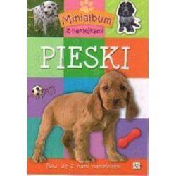 Minialbum z naklejkami - Pieski