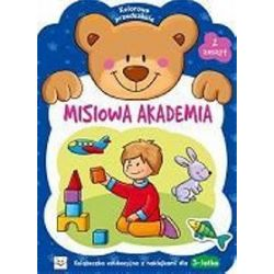 Misiowa Akademia - zeszyt 2. Kolorowe przedszkole