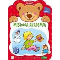 Misiowa Akademia - zeszyt 1. Kolorowe przedszkole