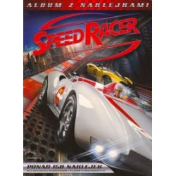 Speed Racer, Album z naklejkami