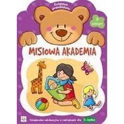 Misiowa Akademia - zeszyt 3. Kolorowe przedszkole