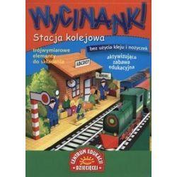 Stacja kolejowa wycinanki - Małgorzata Potocka