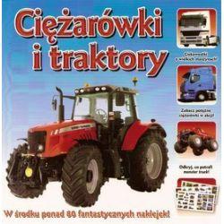 Mini encyklopedia z naklejkami - Ciężarówki i traktory
