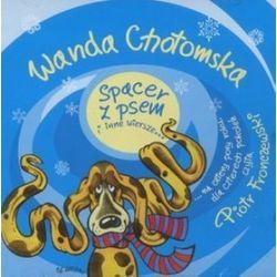 Spacer z psem i inne wiersze... Książka audio na CD (CD) - Wanda Chotomska