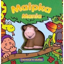 Małpka Mania chichocze w dżungli - David Crossley, Christine Swift