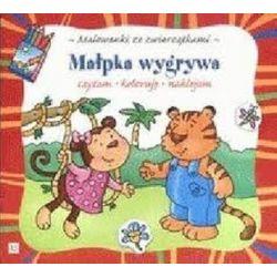 Malowanki ze zwierzątkami. Małpka wygrywa - Agnieszka Bator