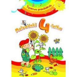 Malowanki 4-latka. Tęczowe przedszkole - Elżbieta Lekan