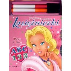 Magiczna tablica księżniczki. Pisz i licz: ABC 123