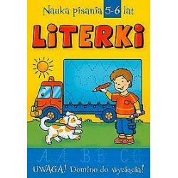 Literki. Nauka pisania, 5-6 lat