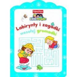Little People. Labirynty i zagadki wesołej gromadki - Anna Wiśniewska