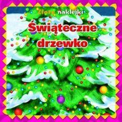 Świąteczne drzewko. Złote naklejki - Krzysztof  M. Wiśniewski (tłum.)