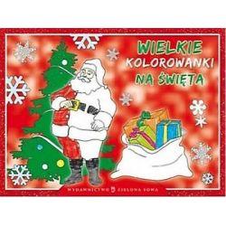 Wielkie kolorowanki na Boże Narodzenie