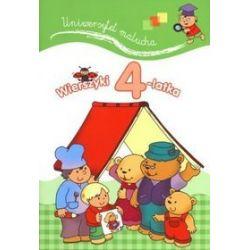 Wierszyki 4-latka. Uniwersytet malucha - Urszula Kozłowska