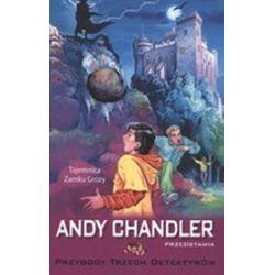 Tajemnica zamku grozy Tom 1. Przygody trzech detektywów - Andy Chandler