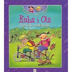 Kuba i Ola, bliźniaki - rozrabiaki. Zaczynam czytać - część 1 - Agnieszka Bator