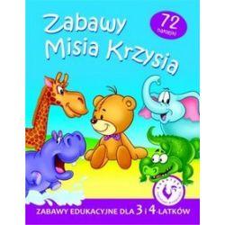 Zabawy Misia Krzysia. Zabawy edukacyjne dla 3 i 4-latków