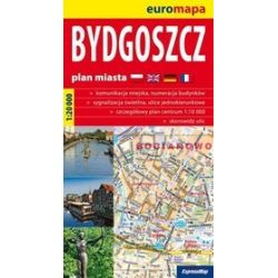 Bydgoszcz - plan miasta 1:20 000