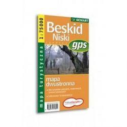 Beskid Niski - mapa turystyczna