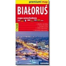 Białoruś - mapa samochodowa 1:750 000