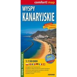 Canary Islands - turist map 1:150 000